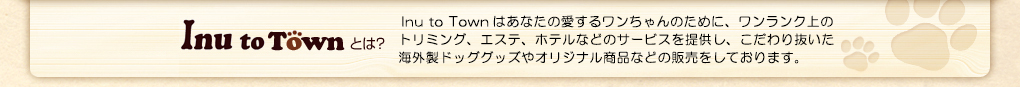 Inu to Townとは?